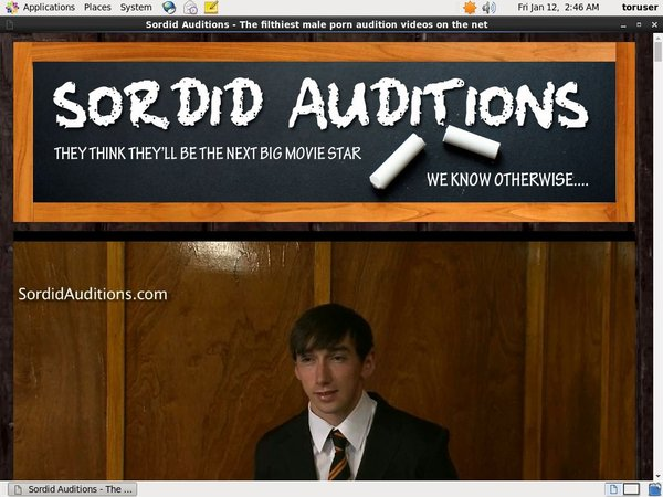 Access To Sordid Auditions V2