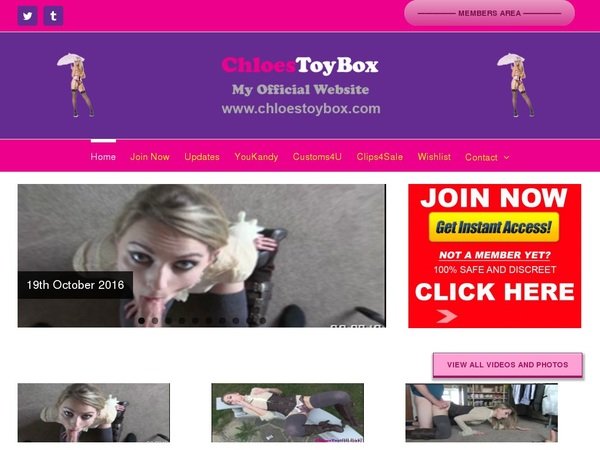 Chloes Toy Box Pw