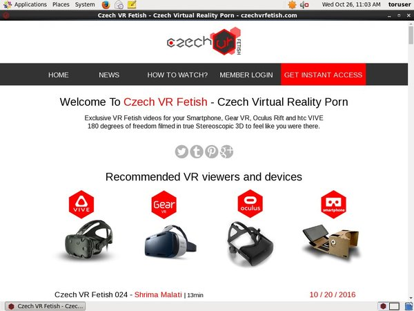 Czech VR Fetish Discount Page