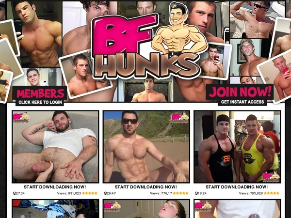 Discount On BF Hunks