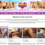 Girls Love Toys Password Username