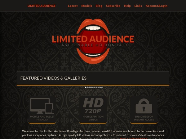 New Limited Audience