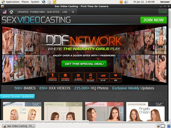 Sexvideocasting One Year