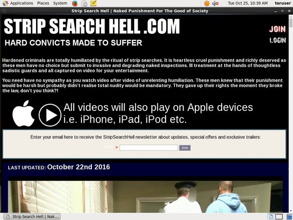 Strip Search Hell Join Page