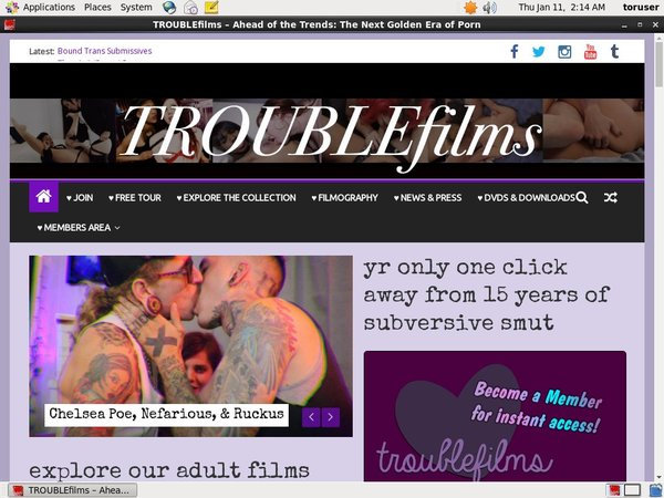 Trouble Films Buy Points