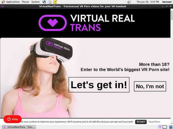 Virtual Real Trans Home Page