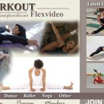 Workout Flex Video Sign Up Page