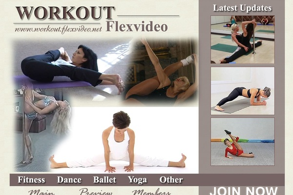 Workout Flex Video With Online Check