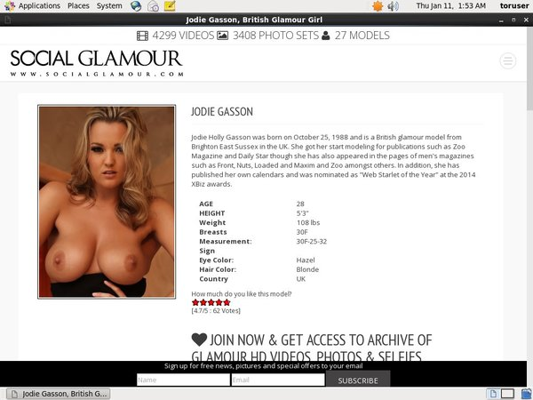 Jodie Gasson Discount Sign Up