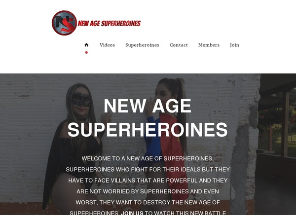 Premium Account For New Age Superheroines