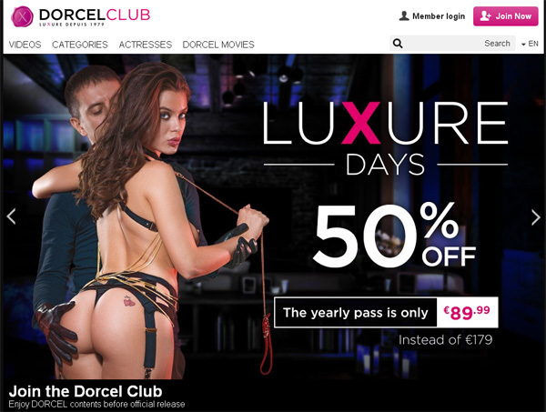 Discount Dorcel Club Membership