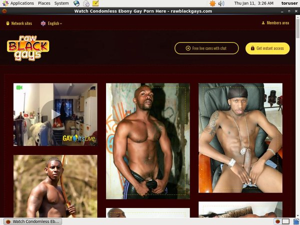 Free Account Raw Black Gays