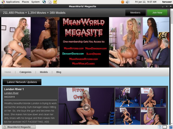 Meanworld.com Account Login