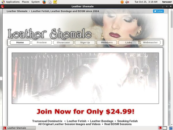 Leathershemale.com Premium Account