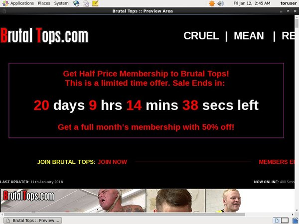 Fre Brutal Tops Login And Password