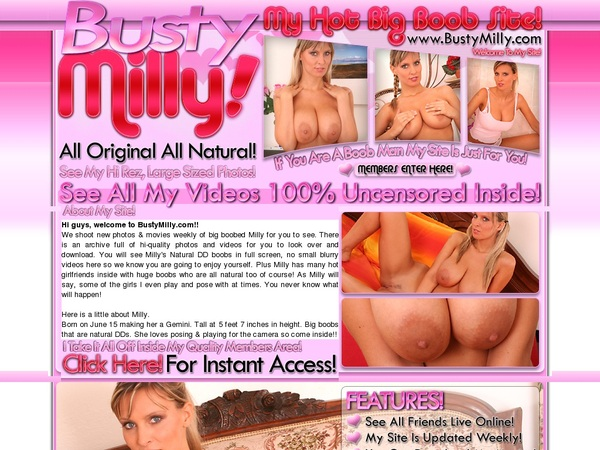Discount Membership Bustymilly.com